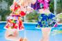 【コスプレ撮影】プールでアイドル撮影